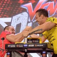 Armfight #48 - Bartosiewicz vs Tiete # Siłowanie na ręce # Armwrestling # Armpower.net