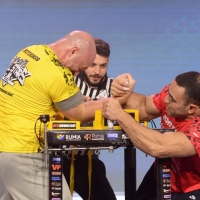 Armfight #48 - Babayev vs Hutchings # Armwrestling # Armpower.net