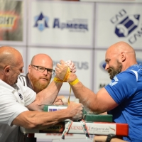 EuroArm2018 - day3 -disabled and masters left hand # Armwrestling # Armpower.net